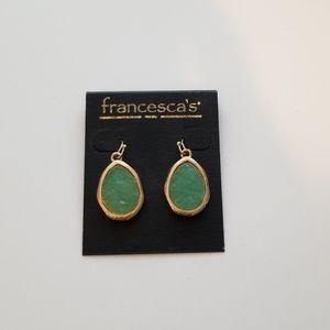 Franchesca's   Turquiose drop earrings